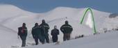 Observation d'une avalanche par l'ONF
